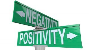 negativity vs positivity in chat rooms